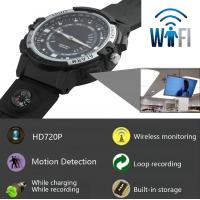 Quality Y30 8GB 720P WIFI P2P IP Spy Watch Hidden Camera Recorder IR Night Vision Motion for sale