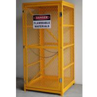 Manual Single Door Oxygen Cylinder Storage Cabinets 14 GA