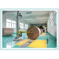 China Customized Paper Roll Handling Conveyor , Paper Reel Handling Equipment With Installations on sale