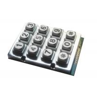 Buy cheap Waterproof Industrial Vending Machine Keypad With 12 Metal backlight Keys product