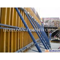 Quality Adjustable Wall Formwork Systems Panel Strut ,  Flexible Concrete Formwork Secure for sale