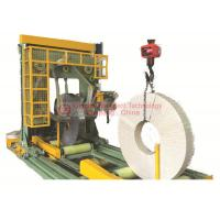 Buy cheap 5.0kW Vertical Coil Wrapping Machine High Ring Speed PLC Programmable Control product