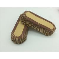 Buy cheap Oilproof Boat Shaped Paper Baking Cups Brown Cupcake WrappersMuffin Eco Friendly product