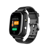 Buy cheap 30W Camera 680mAh SOS Smart Watch For Elderly Silicone Strap product