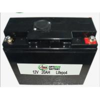 Buy cheap LiFePO4 12V 20AH for UPS , Solar Panel, Lithium Iron Phosphate Batteries product