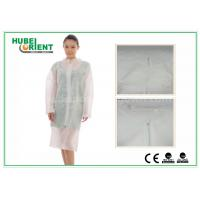 Buy cheap Hospital Surgical Lab Coats / White Lab Coat For Women , MP Tyvek Materials product
