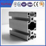 Buy cheap Manufacture 99% pure alloy 6063 v-slot industrial aluminum profile, OEM ODM China aluminum product