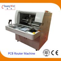 Buy cheap High Resolution CCD and Camera TAB PCB Separator Machine PCB Router from wholesalers