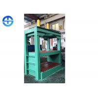 Buy cheap 100 Ton Pressure Scrap Metal Compactor Machine PLC Hydraulic Paint Bucket Flattening product