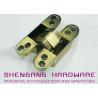 Quality Zinc Alloy / Aluminum Alloy Hidden Door Hinges Hardware , Heavy Duty Cupboard Door Hinges for sale