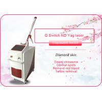 Buy cheap Tattoo Removal 1064nm 532nm Q Switch ND YAG Laser Machine , CE Approved from wholesalers