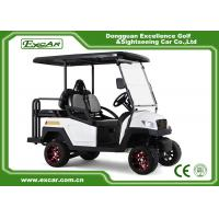 Buy cheap Easy Go 4 Seater Hunting Golf Carts 48V Trojan Batteries Club Buggy Car from wholesalers