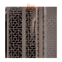 Buy cheap Decorative Solid Wood Lattice Panel For Hotel Guest Room 2 Years Gurantee product