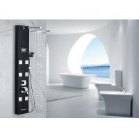 Buy cheap Black Painting Thermostatic Shower Panel ROVATE 5 Functions Water Diverter product