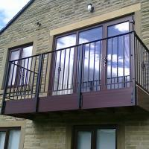 Buy cheap Wrought Iron Balcony Guardrail product