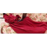 Buy cheap Soft Polyester Coral Fleece Blanket , Mixed Colours Blanket With Sleeve product