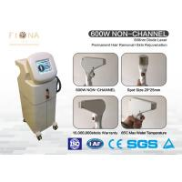 Buy cheap 808nm  Painless Diode Laser Hair Removal Machine Non - Channel Stationary Style product