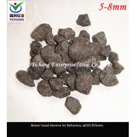 China Brown Fused Alumina Sand For The Raw Material Of Unshaped And Shaped Refractory on sale