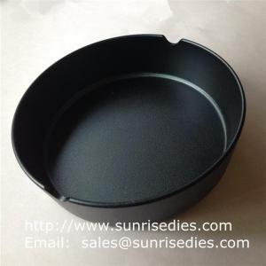 Buy cheap Black Aluminum pocket smoke ashtrays in stock, China aluminum alloy smoking ashtray product