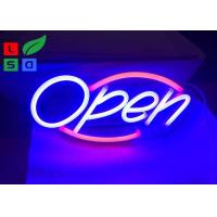 Buy cheap Safety Longevity Colorful Led Neon Open Sign For Indoors And Outdoors , Energy from wholesalers