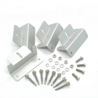 Buy cheap Anodised Aluminium Alloy Extrusion Profiles Clamp For Solar Mounting System product