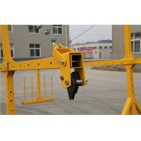 Professional Suspended Access Platforms ZLP630 With Single Rack 50HZ / 60HZ