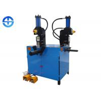 Buy cheap Hydraulic 4KW Scrap Motor Recycling Machine / Copper Cutting Machine Blue Color product