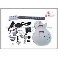 China LP Style Solid Basswood DIY Electric Guitar Kits With Rosewood Fingerboard on sale