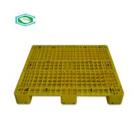 Buy cheap Static 4 Ton Plastic Export Pallets Mesh Form Top Surface Dimensional Stable product