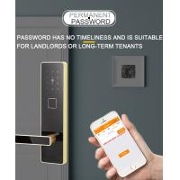 Quality Pin Code Apartment Lock In High Security With MIFARE Emergency Key Durable for sale