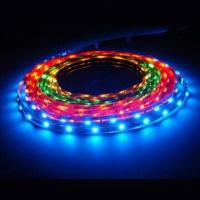 Buy cheap DC12V waterproof smd led tape CE Rohs IP67 yellow led tapes with 40 roll per carton product