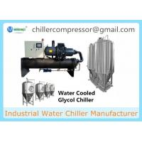 Buy cheap Water Cooled Screw Chiller with Cooling Tower and Cooling Pumps for Milk Industry product