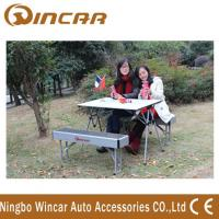 Buy cheap Aluminum Folding Outdoor Camping Tables Expandable for picnic product