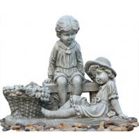 Buy cheap Decor Outside Statue Water Fountains / Patio Water Fountain Customized /outdoor garden ornaments product