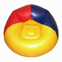 Buy cheap Inflatable Sofa, Made of PVC, Customized Logos are Accepted, EN71-certified product