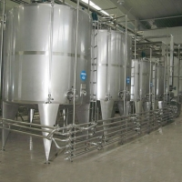 Buy cheap SUS316 Dairy Pasteurized  UHT Milk Processing Line Equipment product