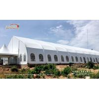 Buy cheap Special 20x50m Curve Tent for Event Center for 1000 People in Nigeria from Liri from wholesalers