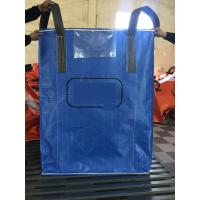 Buy cheap High quality blue color PP woven circular jumbo bags with square bottom sift-proofing product