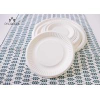 Buy cheap Round White Takeaway Food Containers / Tray 8oz - 40oz Water Resistant For Cafes product