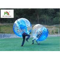 China 1.0mm PVC Inflatable Bumper Ball Transparent Bubble Ball For Football Games on sale