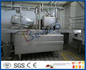 Buy cheap SGS Sanitary  1000L/H  Yoghurt Processing Line With Auto CIP Cleaning product