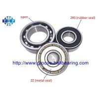 Buy cheap Chrome Steel Deep Groove Ball Bearing 6002 ZZ With High - Load And High from wholesalers