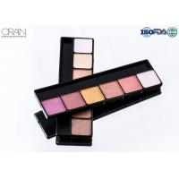 Buy cheap OEM ODM cosmetics 6 color eye shadow, professional makeup eyeshadow palette product