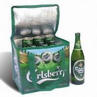 Buy cheap Ice Cooler Bag, Made of Printed PE Woven Cloth product