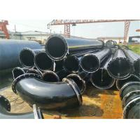 Buy cheap Gas Drainage Plastic Coated Steel Tube Spiral Welded Corrugated Steel Pipe product