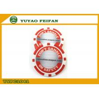 Buy cheap Red / White Custom Poker Chips Customize Your Own Poker Chips product