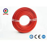 Buy cheap Moistureproof Single Core Sunlight Resistant 4mm Single Core Cable XLPE with TUV product