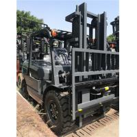 Buy cheap Pneumatic Tire Diesel Forklift Truck Equip Efficient Engine Heavy - Duty Axle product