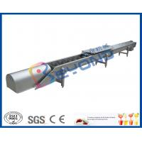 Buy cheap Screw Conveyor Design Fruit Processing Equipment With SUS304 Stainless Steel product