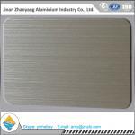 Buy cheap 6063 T6 temper size 30mmX1220mmX2440mm aluminum brush sheet product